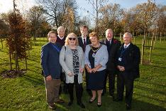 Councillors at Centenary Wood