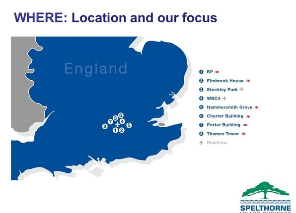 Location and our focus