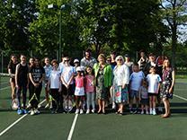 Fordbridge tennis launch