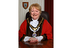 Mayor of Spelthorne Councillor Mary Madams