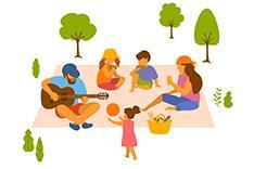 Singing picnic
