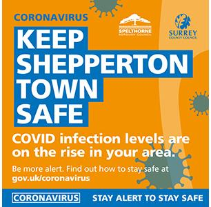 An image relating to COVID-19 cases - Shepperton Town