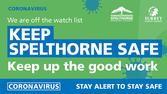 An image relating to Spelthorne comes off government watchlist