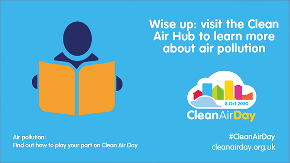 An image relating to Clean Air Day 2020 - 8 October