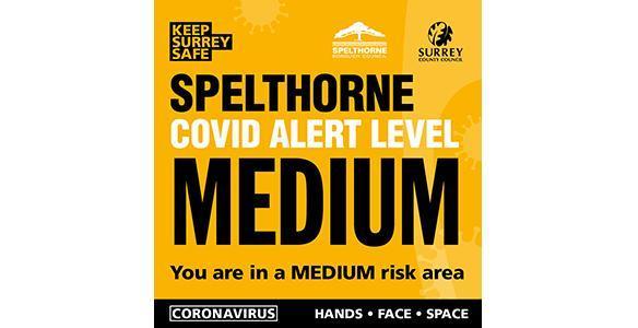 Medium Covid warning