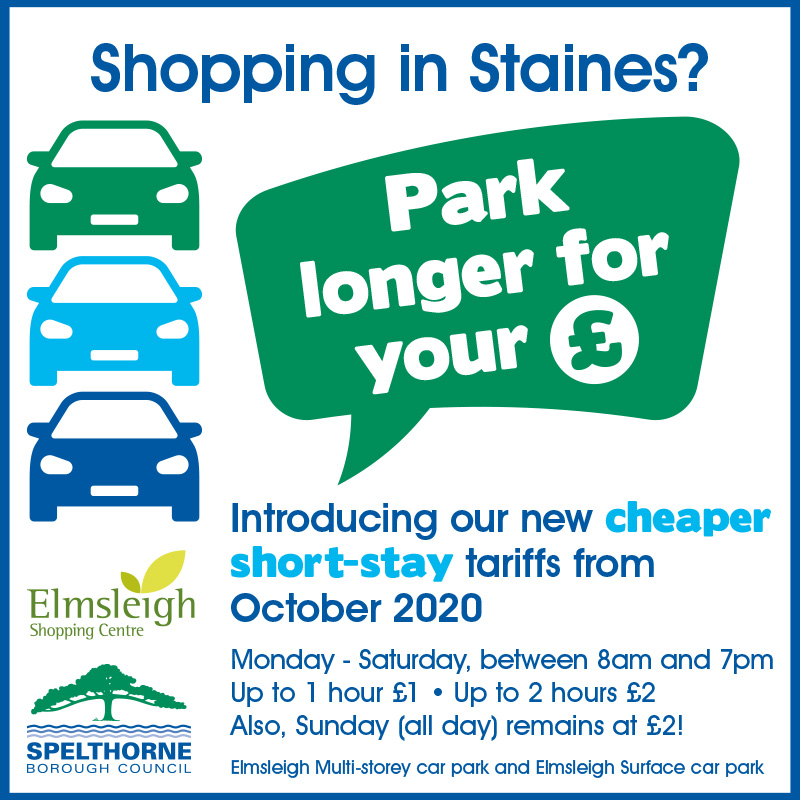 An image relating to Changes to car parking charges
