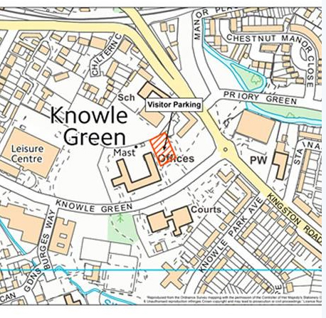 Knowle Green Parking Displays a larger version of this image in a new browser window